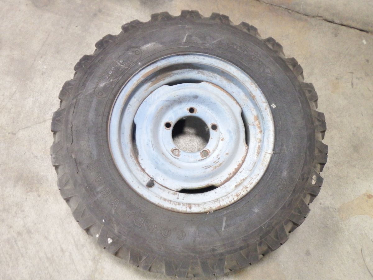 Willys 16x6 Spare Rim Wheel 50 Image