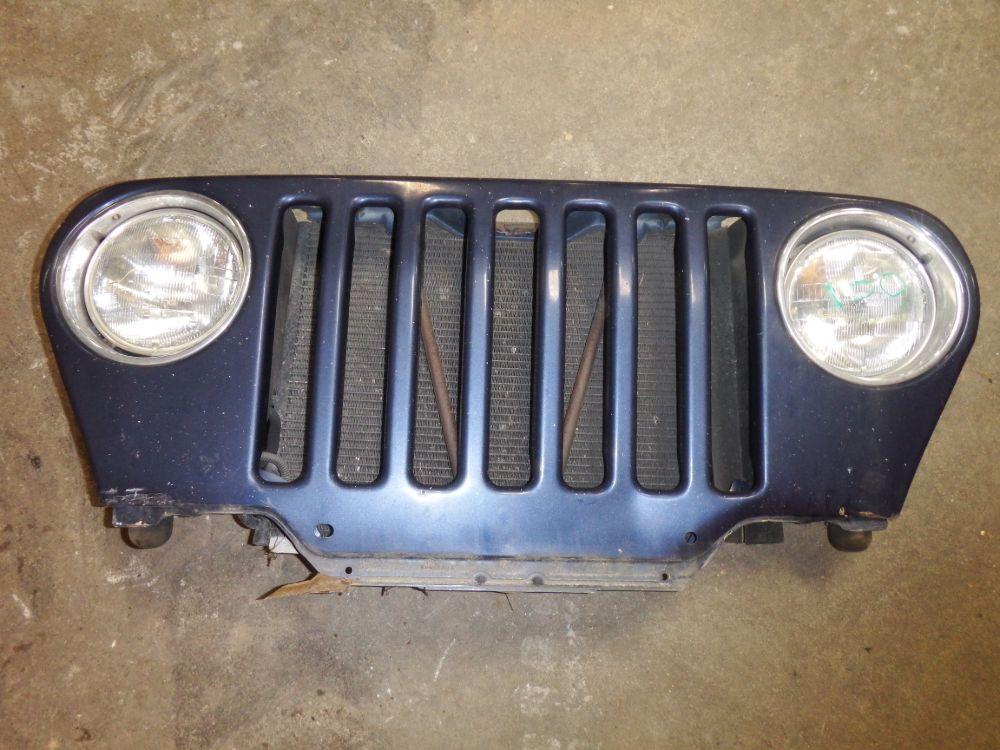 98-06 Jeep Wrangler TJ LJ Grille Blue Image