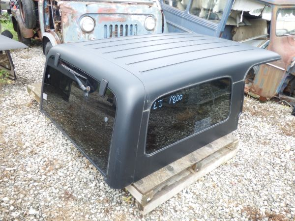 2004-2006 Jeep Wrangler Unlimited Hardtop Black Image