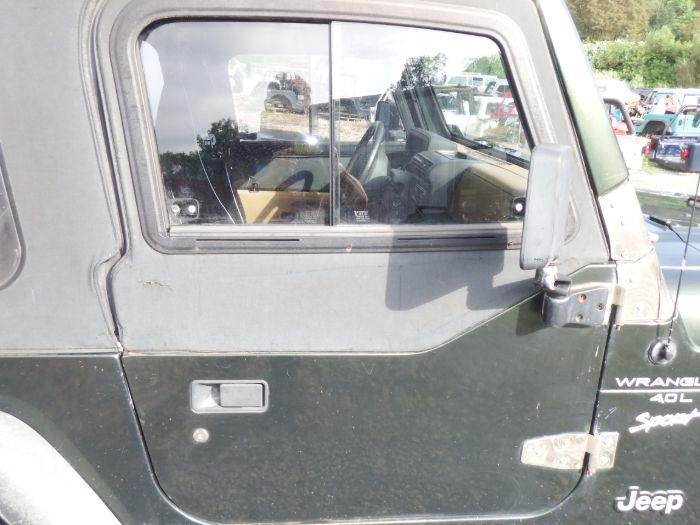 Jeep Wrangler TJ LJ 1/2 Doors with Sliders PJN Green Image