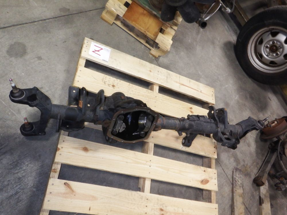 Jeep Wrangler Rubicon JL 44 Front Axle Housing Image