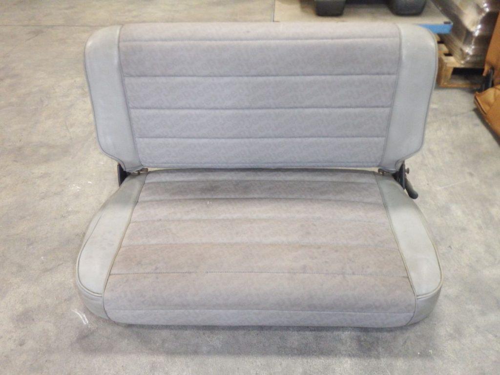 Jeep CJ YJ Fold & Tumble Rear Seat Gray 50 Image