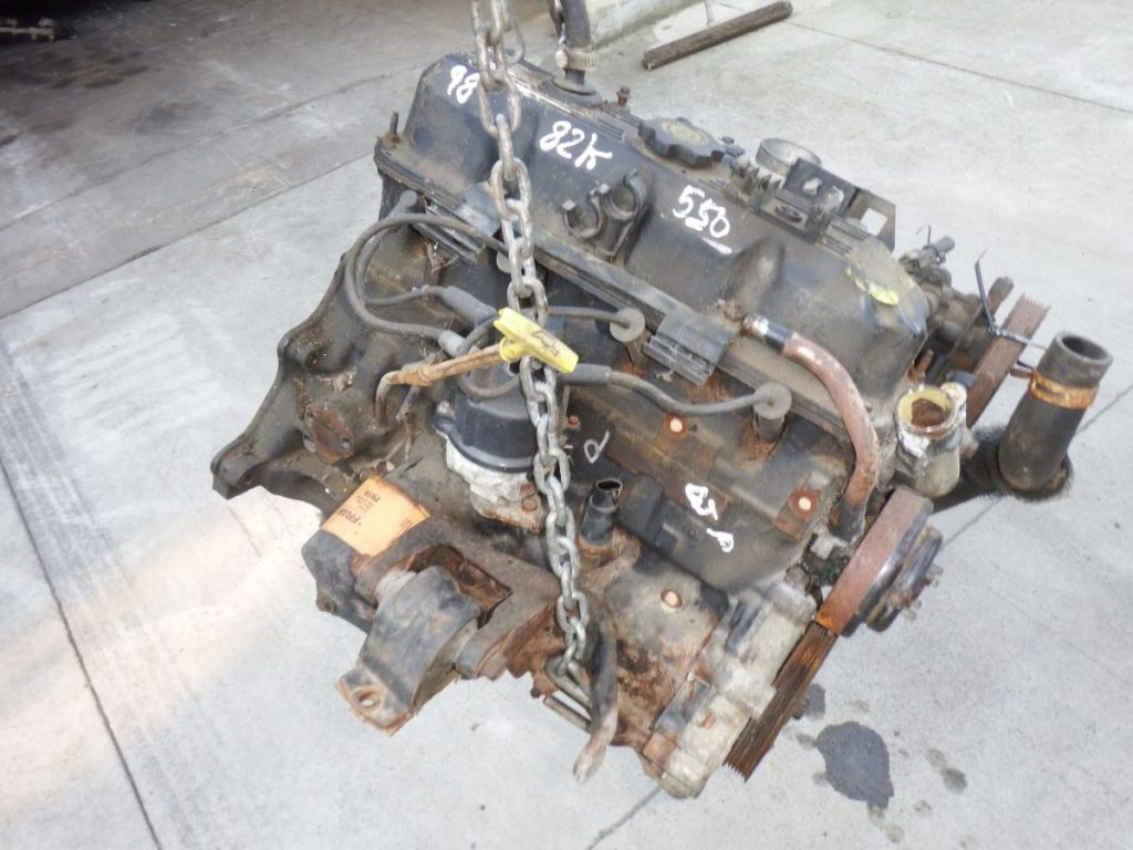 1998 Jeep Wrangler TJ 2.5 Engine 82K Miles Image