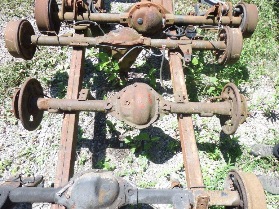 Jeep CJ Willys Dana 44 Flanged Rear Axle 51 Inch WMS 125 Image