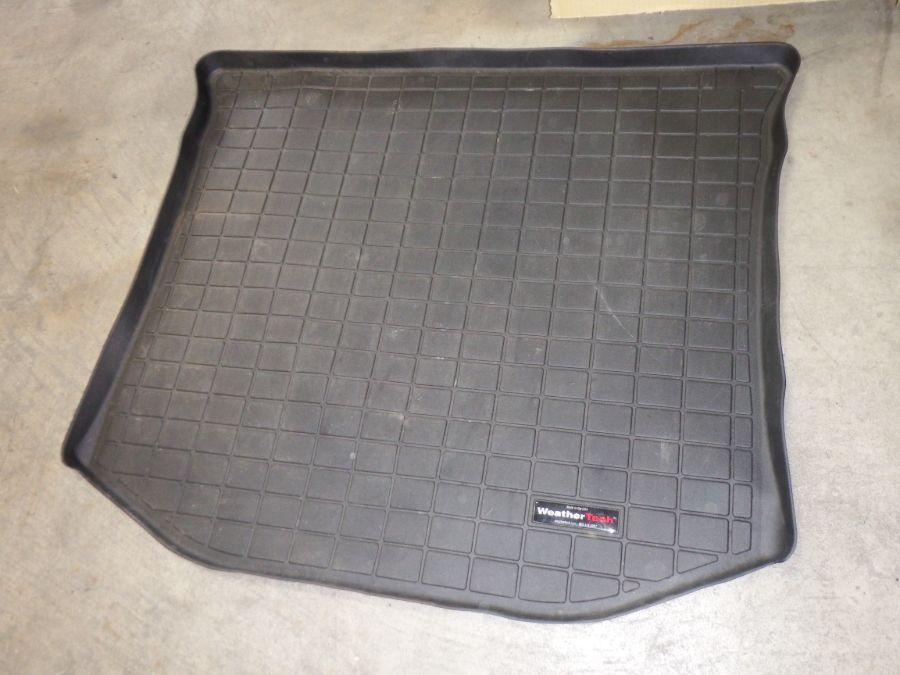 2011-2021 Jeep Grand Cherokee WeatherTech Rear Floor Liner Cargo Mat Black Image