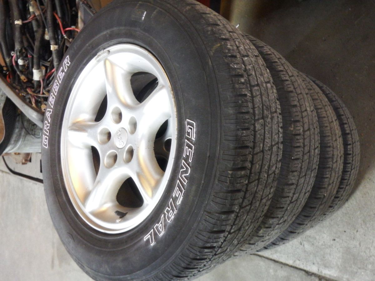 Jeep 5.9 ZJ or XJ 60th Anniversary 16x7 Wheels Rims 5 Available 250 Image