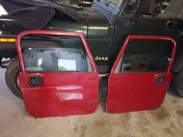 Jeep Wrangler TJ LJ Full Doors Chili Pepper Red Image