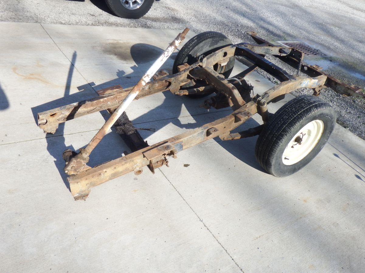 Willys CJ2A Rear Rolling Frame Section Very Solid Condition Image