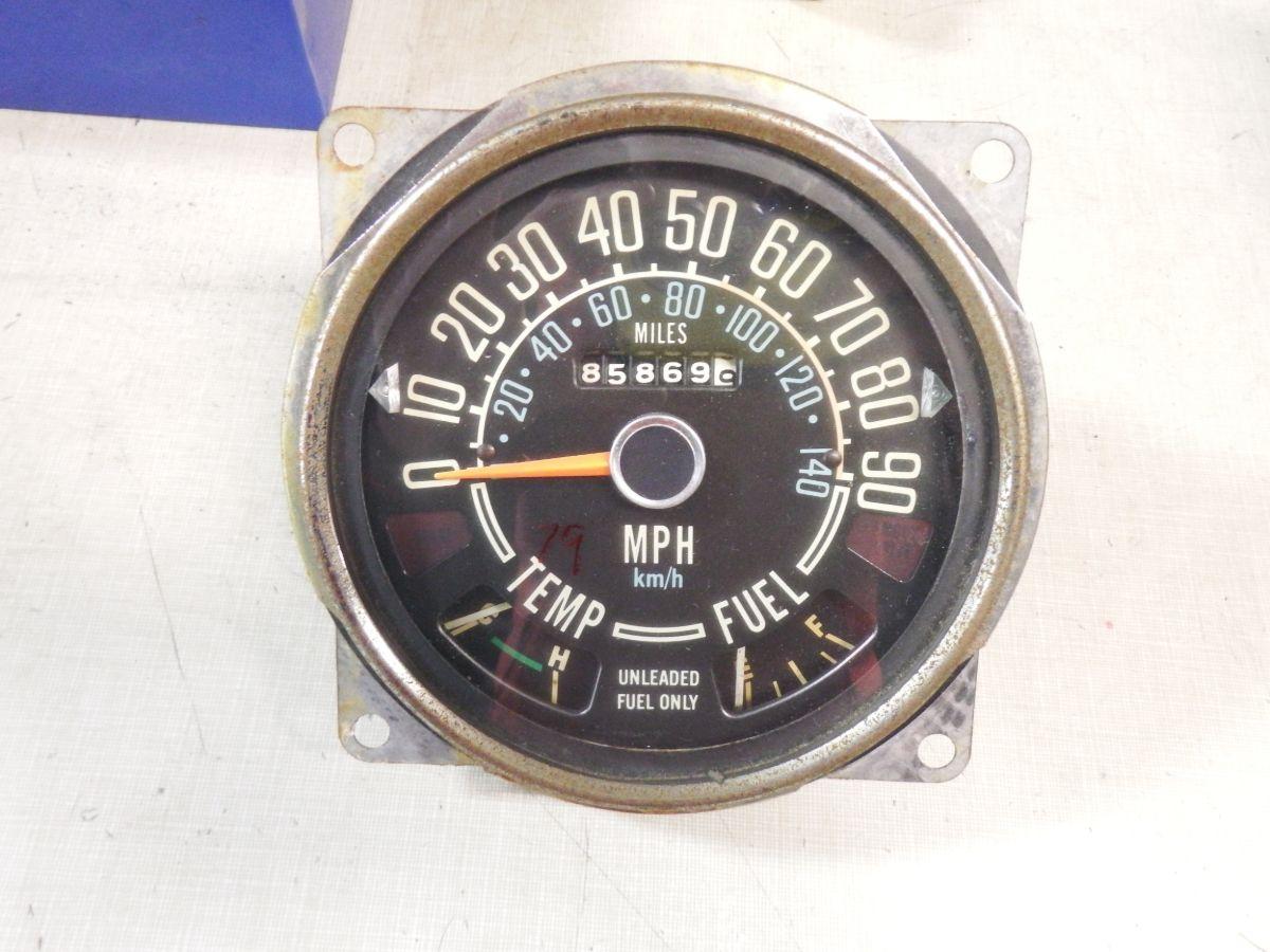 79 CJ5 CJ7 Speedometer Odometer Cluster Gauges Image
