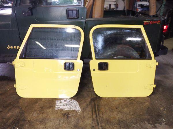 Jeep Wrangler TJ LJ Full Doors Solar Yellow PYH Image