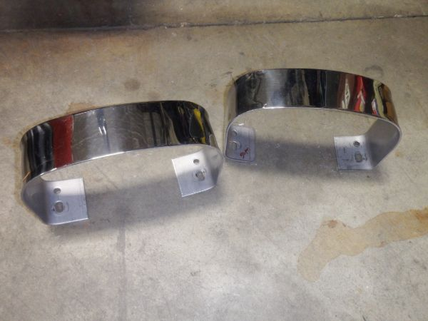 TJ YJ Stainless Steel Bumperettes Image
