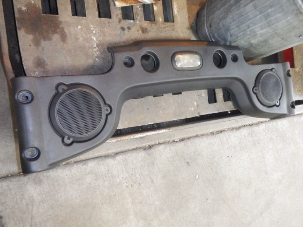 07-10 Jeep Wrangler JK Soundbar with Speakers Image