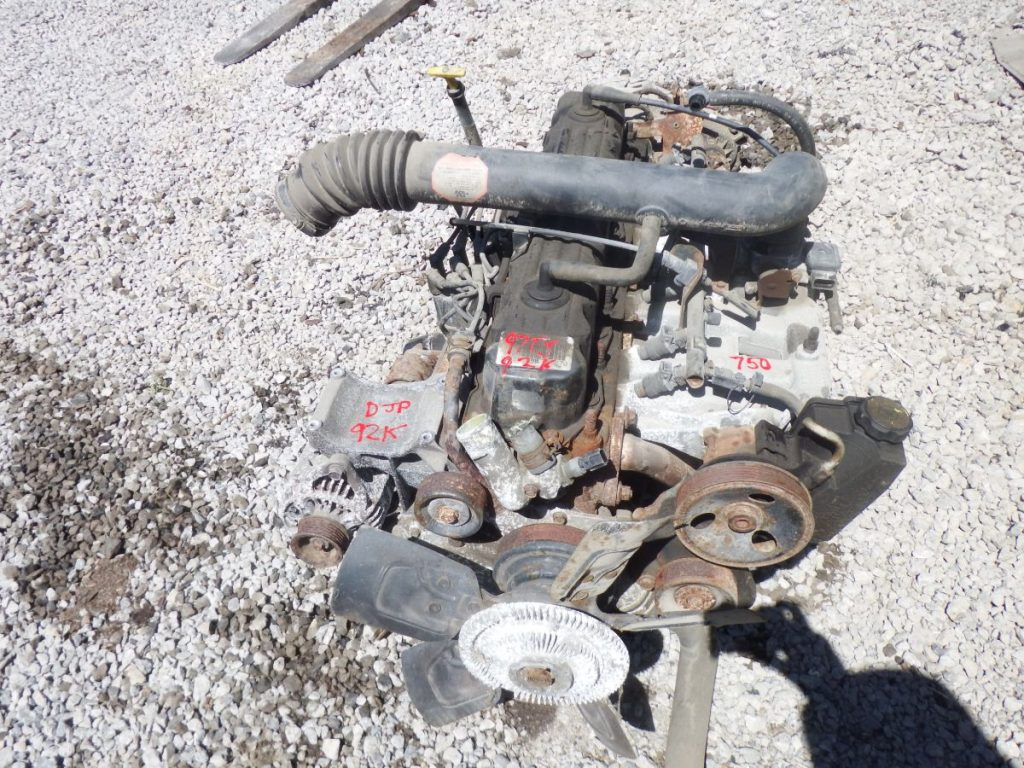97 TJ Wrangler 4.0 Engine 32RH Transmission 231J Transfer Case 92k Image