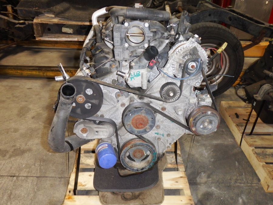 2008 Jeep Wrangler JK 3.8 Engine Image