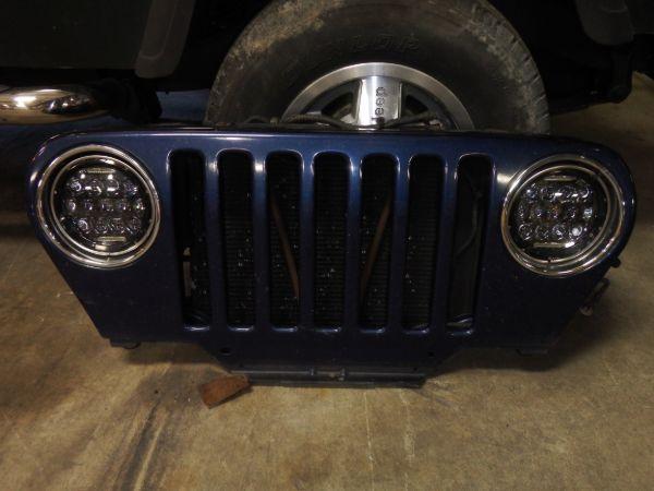 2003 Jeep Wrangler TJ LJ Grille Patriot Blue PBT Image
