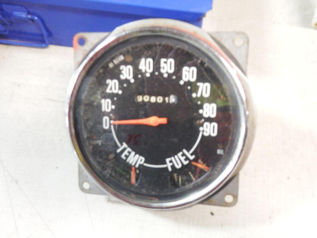 75 CJ7 CJ5 Speedometer Gauges Odometer Cluster Image