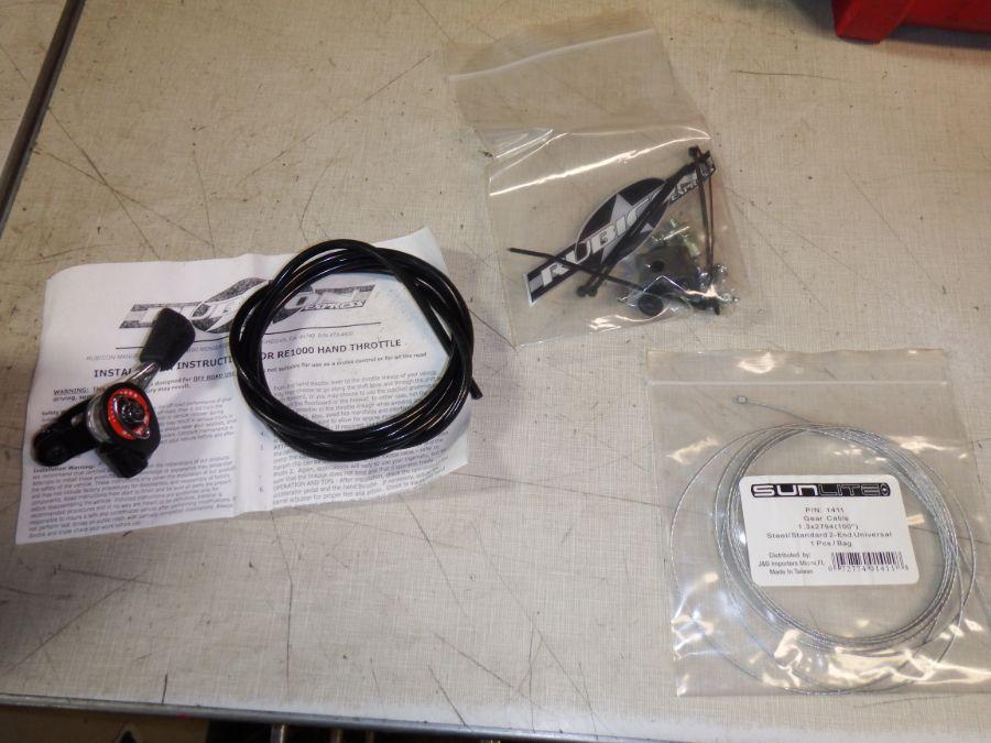 YJ TJ XJ Rubicon Express Hand Throttle Kit RE1000 Image