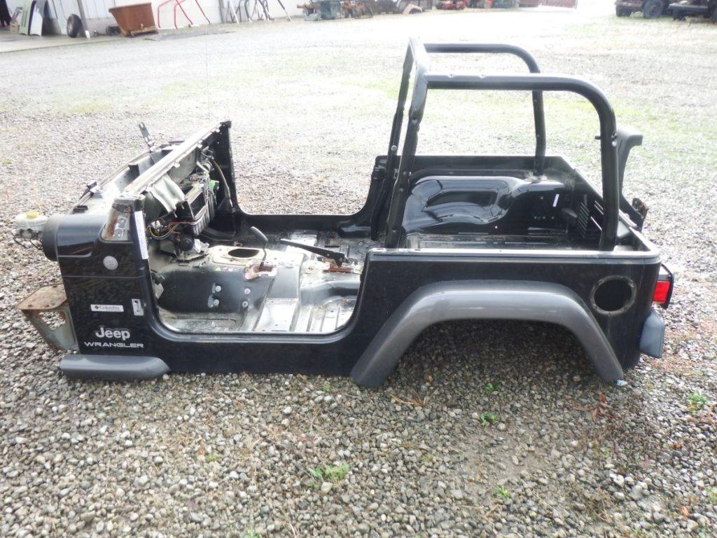 2004 Jeep Wrangler TJ Body Tub 1400 Image
