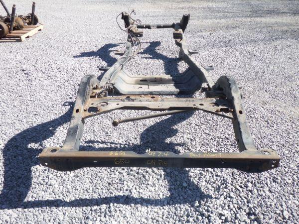2003-2006 Jeep Wrangler TJ 2.4 Frame Front Horns Bent Image