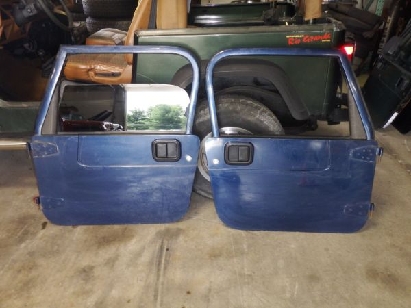 1997-06 Jeep Wrangler TJ LJ Full Doors PBT Image