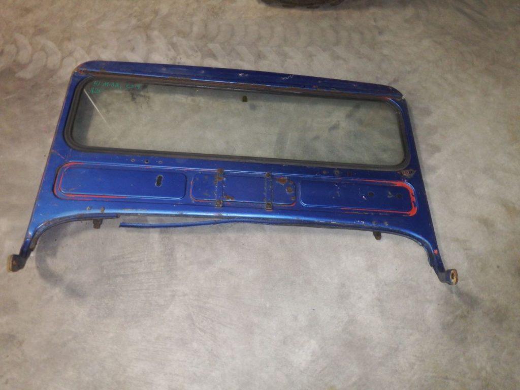 51 M38 CJ3 Original Windshield Frame Image