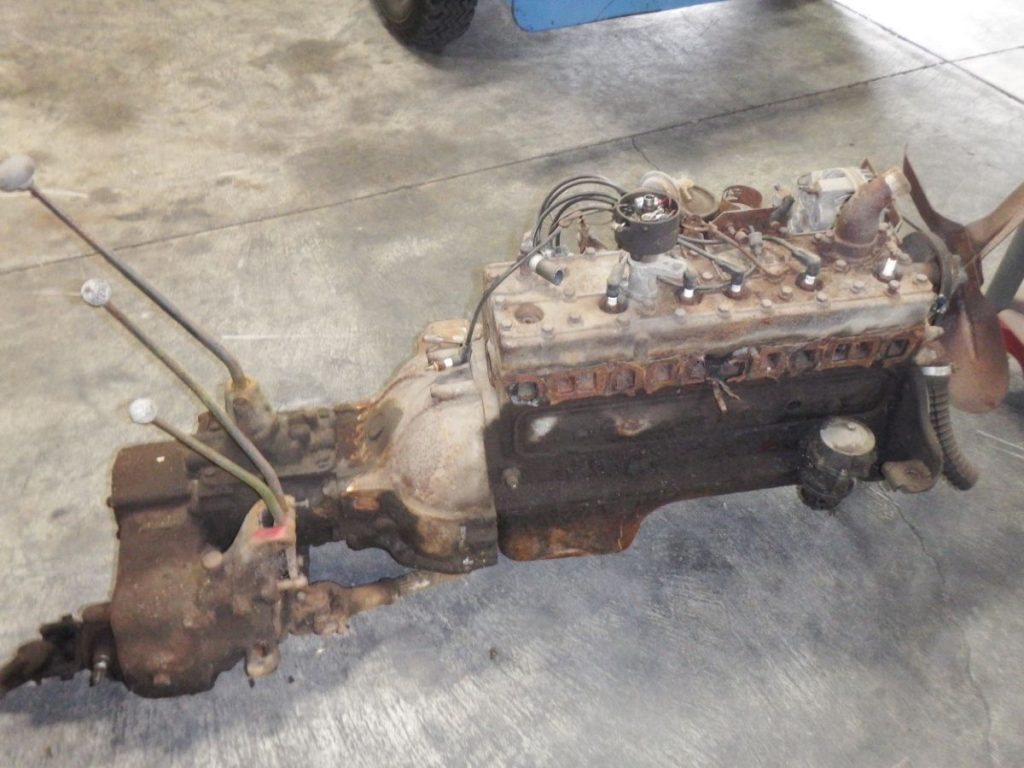 Willys Pickup Truck Wagon Super Hurricane Flathead Engine, T-90, Spicer 18 Image
