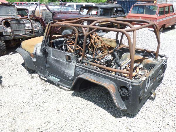 Jeep Wrangler TJ Tub Image