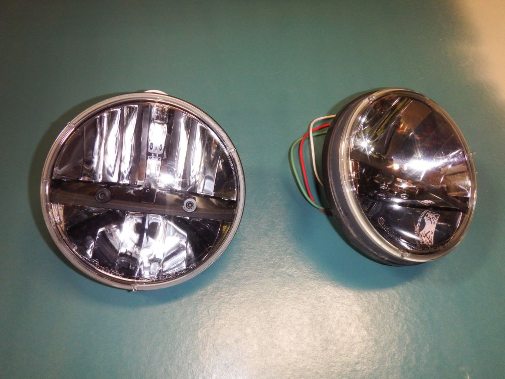 TruckLite HL11 LED Headlight Pair Made in USA Image