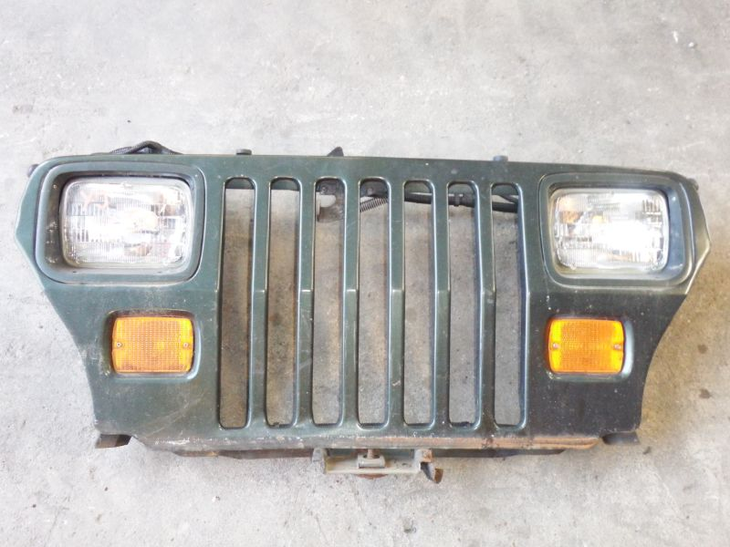 Jeep Wrangler YJ Wall Hanger Grille Image