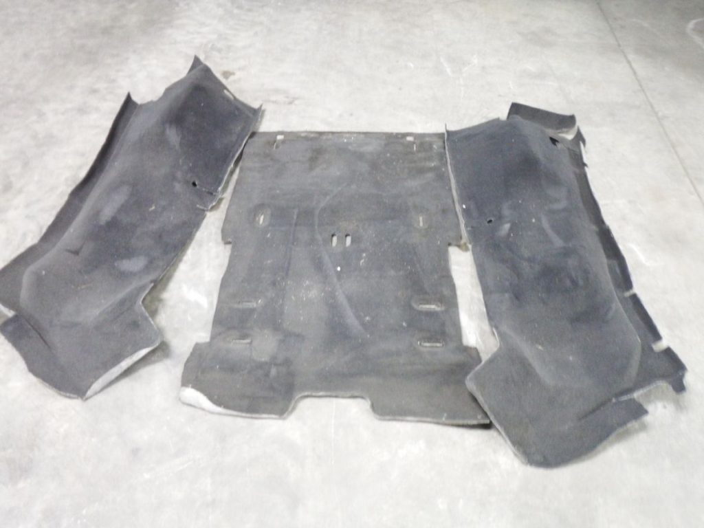 2004 2005 2006 Jeep Wrangler UNLIMITED Rear Carpet 100 Image
