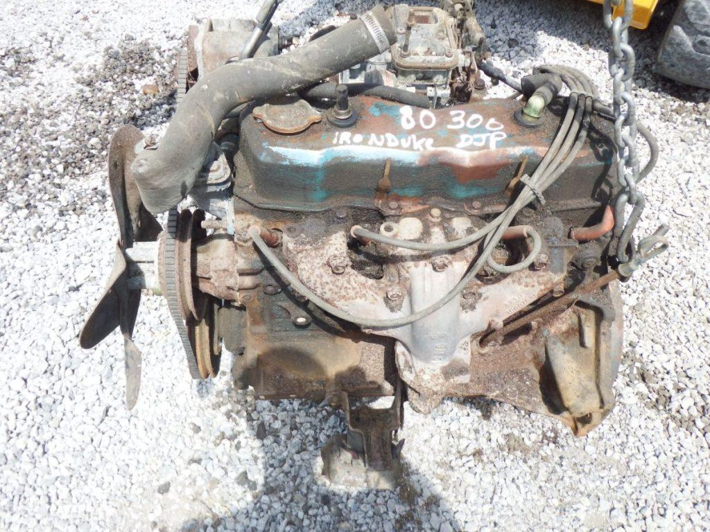 80 CJ 2.5 Iron Duke Engine Complete Turns Over Image