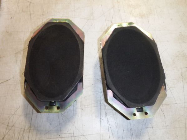 2002-2006 Jeep Wrangler TJ LJ Dash Speakers Image