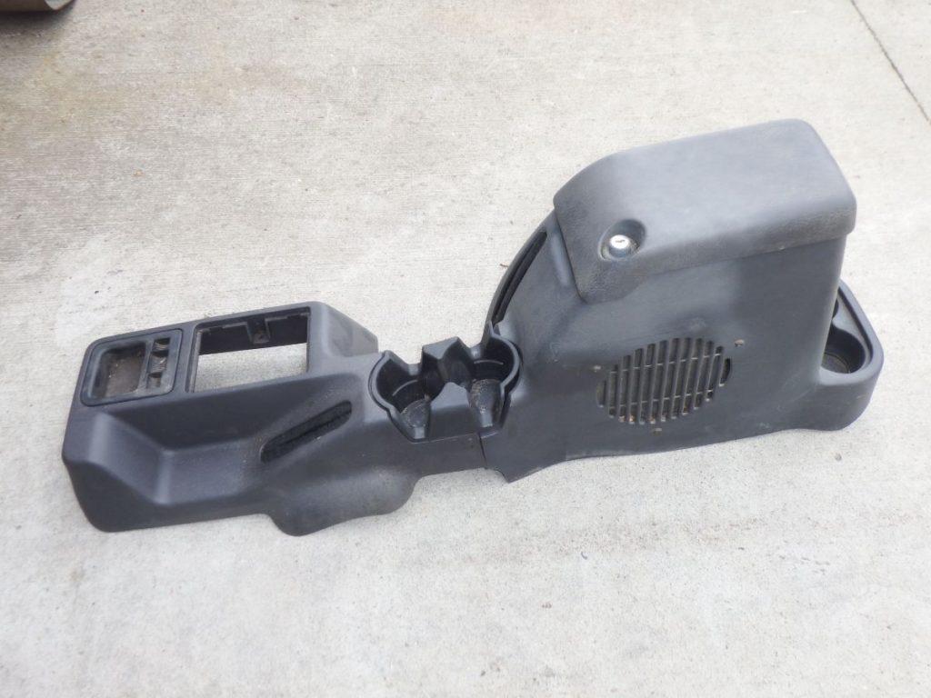 97-04 Jeep Wrangler TJ LJ Slate Center Subwoofer Console Image