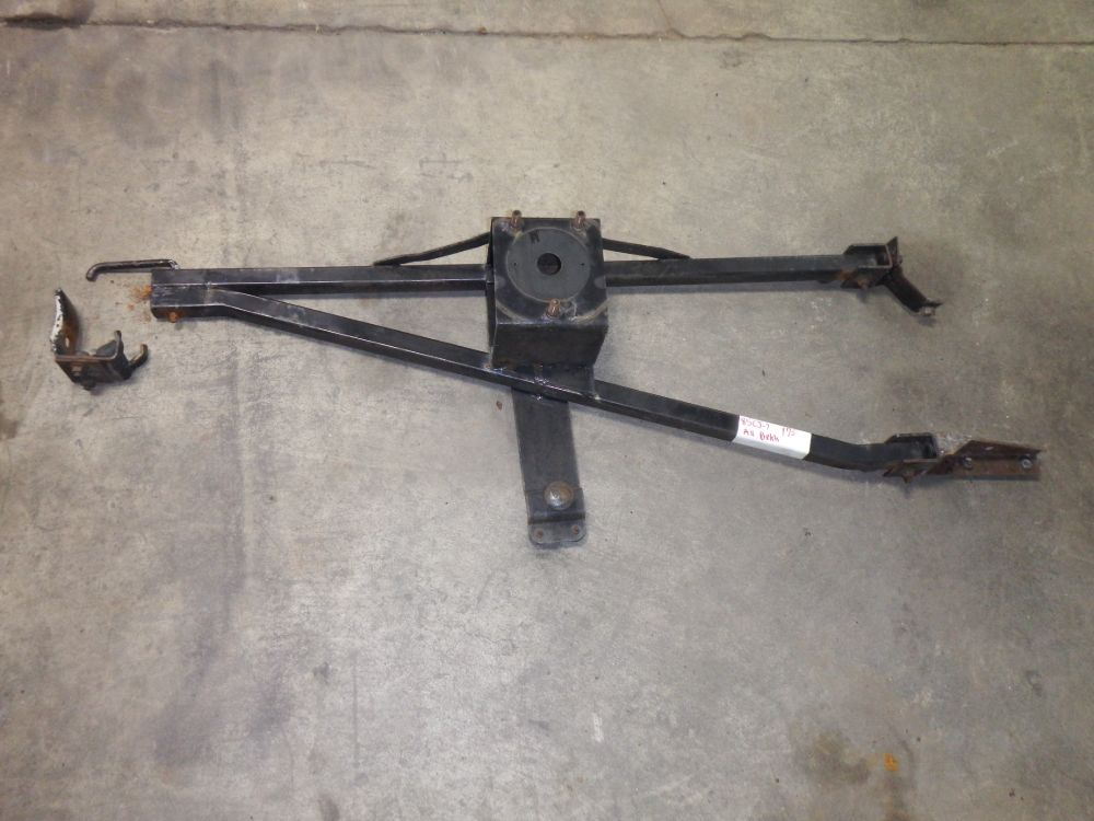Jeep CJ5 CJ7 CJ8 Tire Carrier Assembly with all Brackets Image
