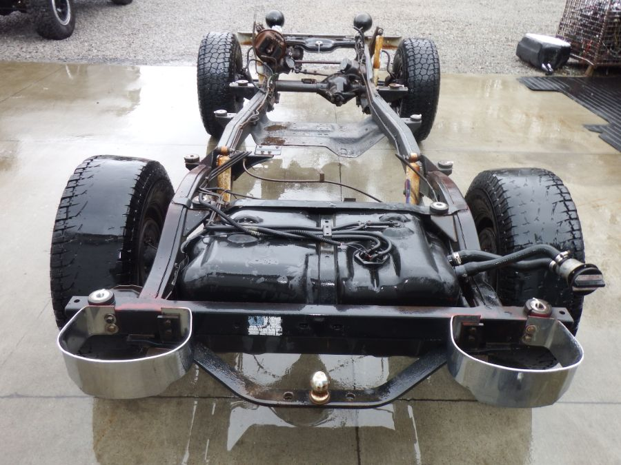 1985 Rust Free Jeep CJ7 Rolling Chassis Image