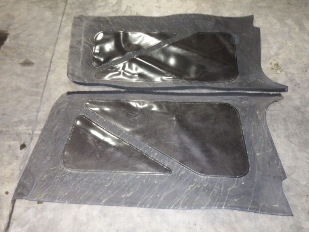Pair 04-06 LJ Unlimited Soft Top Side Windows 25 Image