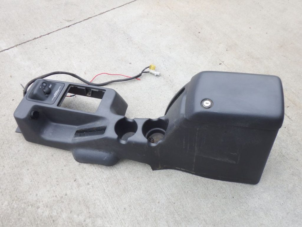 97-00 Jeep Wrangler TJ Agate Gray Center Console Image