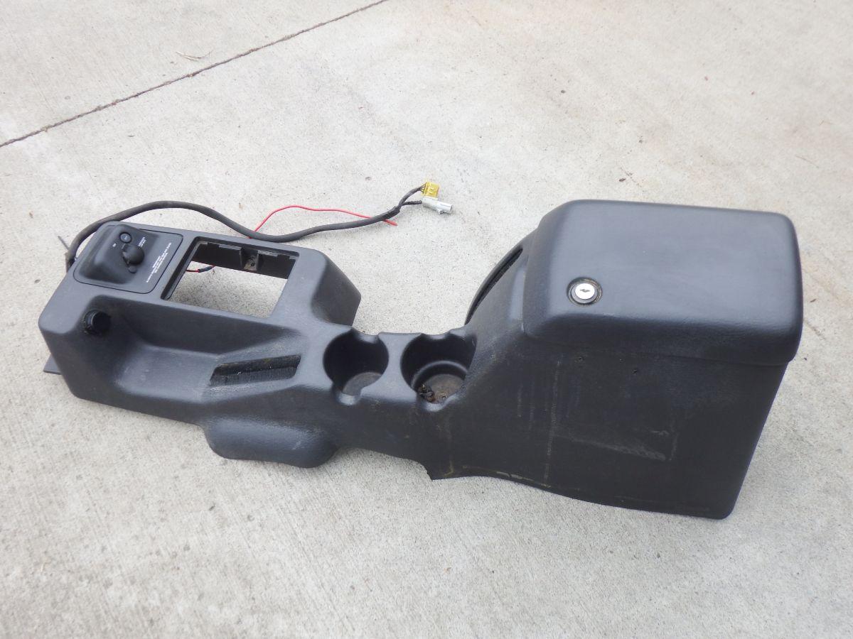 97-00 Jeep Wrangler TJ Agate Gray Center Console Image