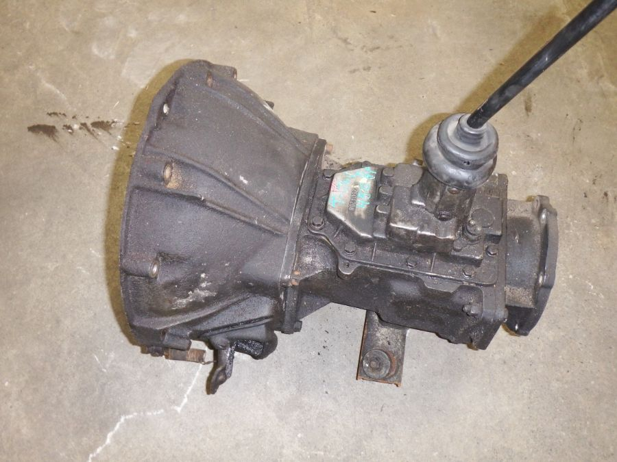Jeep CJ T-176 Transmission with Bellhousing Image