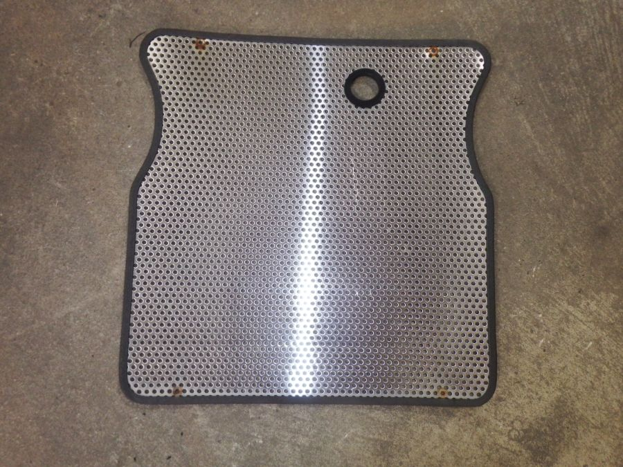 Jeep CJ5 CJ7 CJ8 Stainless Steel Grille Cover Image