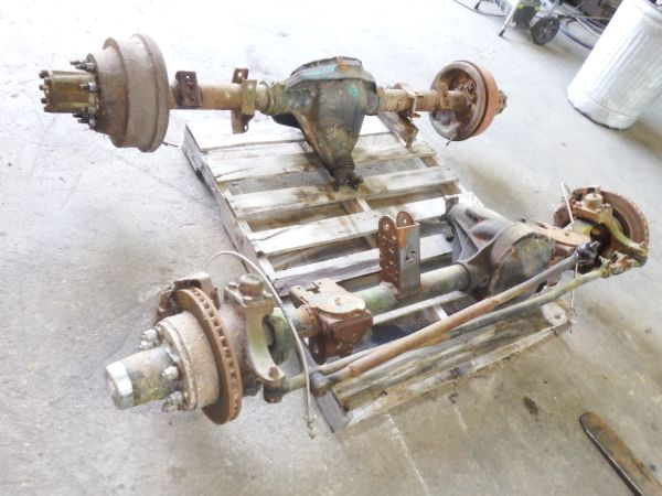 Ford Dana 60 HP Front Axle Sterling 10.25 Rear Axle Image