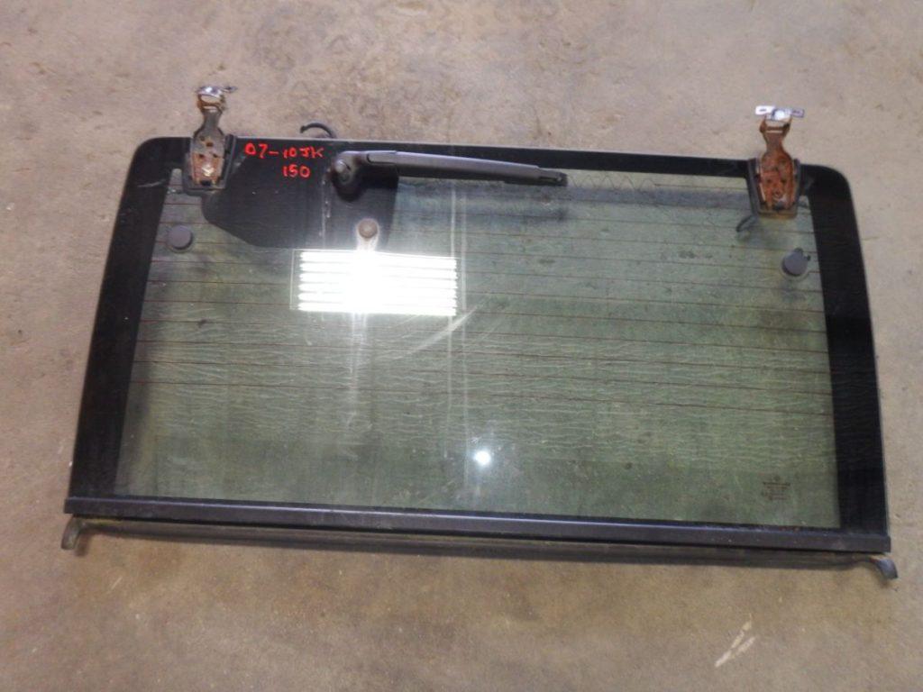 Jeep Wrangler JK Hardtop Rear Glass Window 07-10 Image