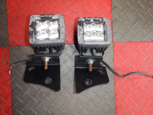 Jeep Wrangler TJ Derby City LED Cube Lights Image