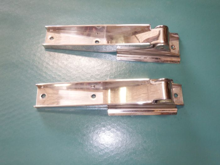 1997-04 Jeep Wrangler TJ Stainless Steel Tailgate Hinges Image