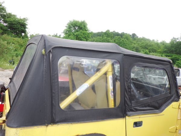 Jeep Wrangler YJ CJ7 Soft Top With Hardware Image