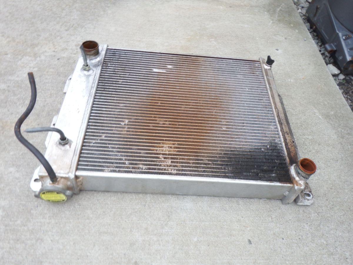 TJ YJ V8 Conversion Radiator 75 Image
