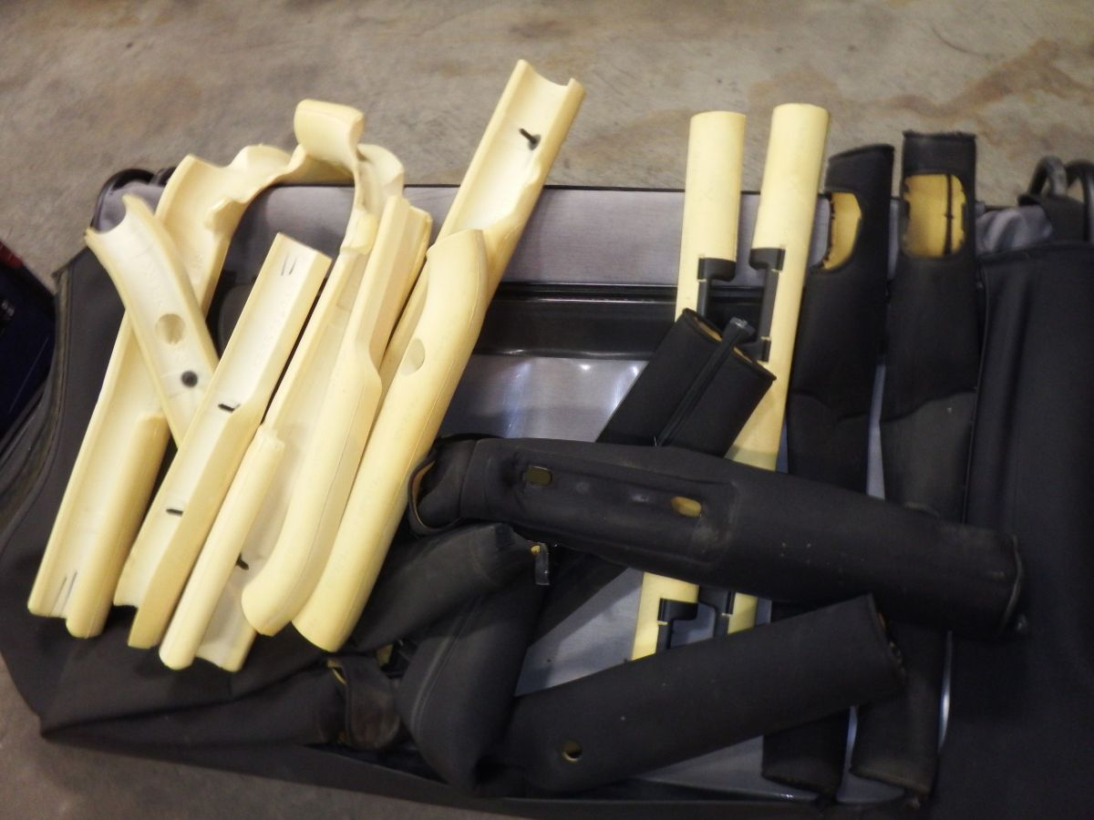 Complete Jeep Wrangler TJ OEM Rollbar Padding & Covers Roll Cage 100 Image