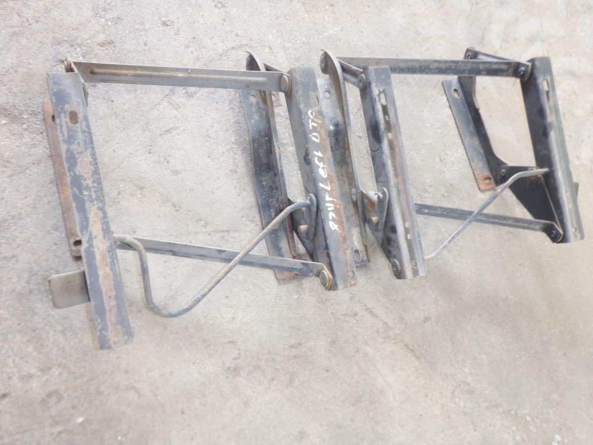 Pair YJ CJ7 CJ8 Seat Bases Mounts Folding Flip Style Seats Image