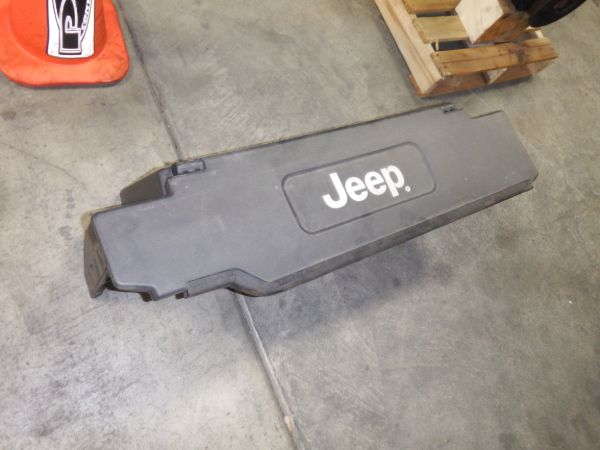 97-06 Jeep Wrangler TJ LJ Plastic Folding Add A Trunk Factory Black or Khaki Image