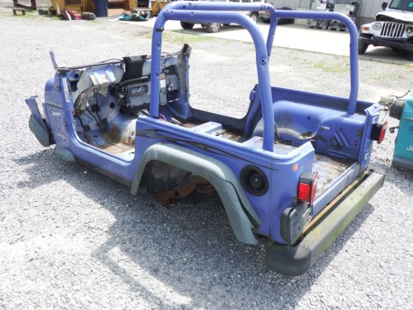 1997 Jeep Wrangler Tub/Frame Section Image